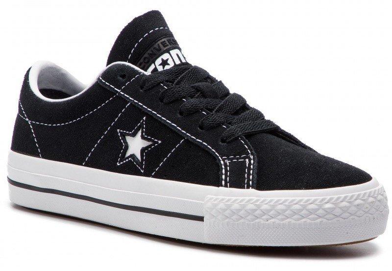 dd243788fd Topánky CONVERSE - ONE STAR OX PRO BL Black   White   White