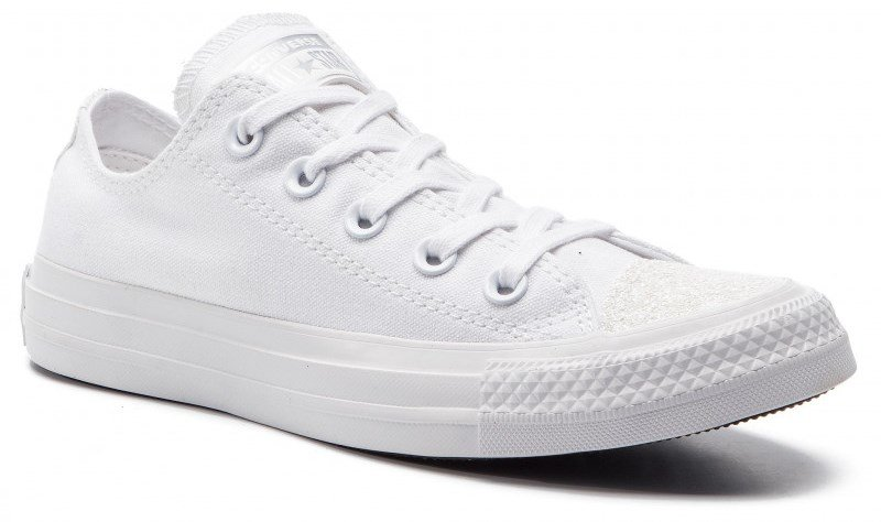 Topánky CONVERSE - CHUCK TAYLOR ALL STAR OX White / White / Silver