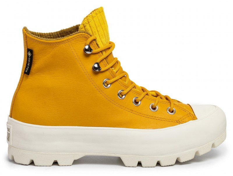 Topánky CONVERSE - CHUCK TAYLOR ALL STAR LUGGED WINTER HI GORE-TEX Gold Dart / Olive Flak / Egret