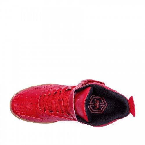 Topánky SUPRA - BLEEKER Red   Gum  588d0fbc3cd
