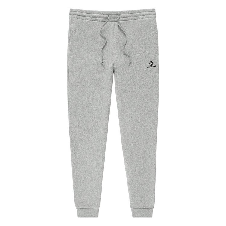 Tepláky Converse - Embroidered Jogger Vintage Grey Heather