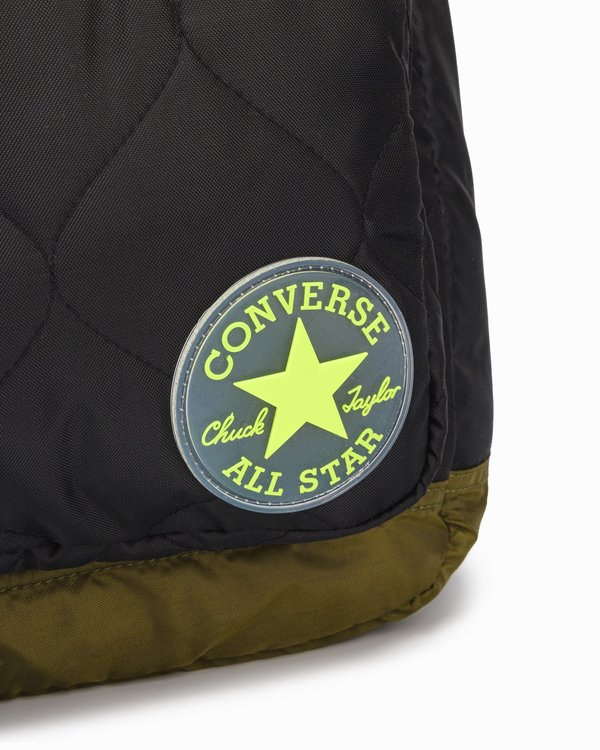 Batoh Converse - Quilted Go 2 Backpack Black Green