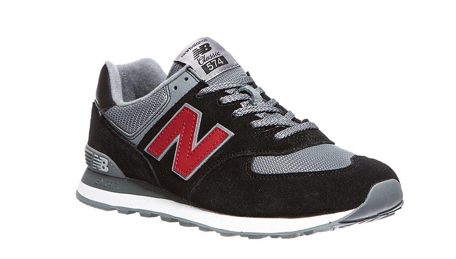 dc3e1ee9909d5 Topánky NEW BALANCE ML574ESU Black / Gray   Pánska jarná / letná ...