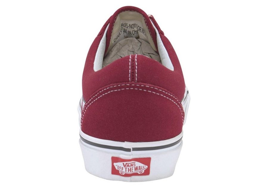 7657e4998bf4 Topánky VANS - OLD SKOOL Rumba Red   True White
