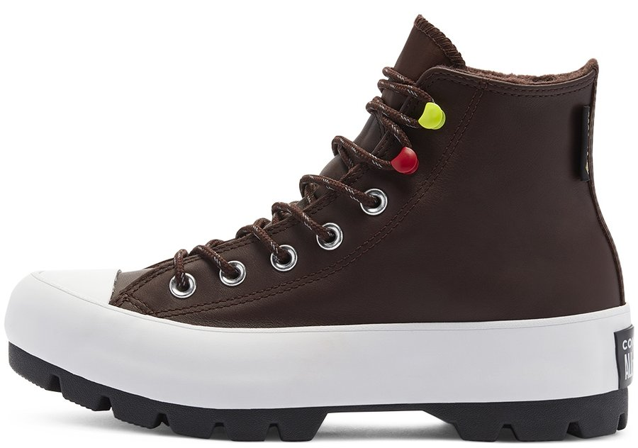 Topánky Converse - Chuck Taylor All Star Lugged Winter High Top Dark Root Black White 2