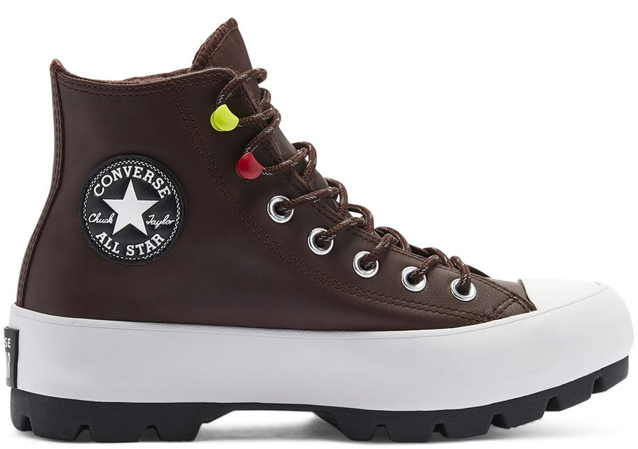 Topánky Converse - Chuck Taylor All Star Lugged Winter High Top Dark Root Black White 1