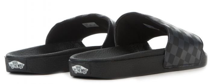 1057faeeeb Šľapky VANS - SLIDE ON ( CHECKERBOARD ) Black   Asphalt