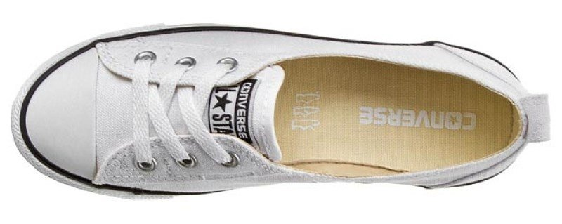 Topánky CONVERSE - CHUCK TAYLOR BALLET LACE SLIP / White