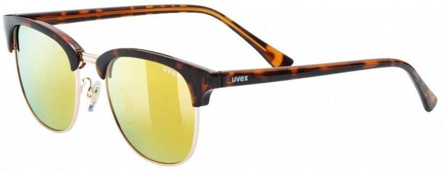 Slnečné okuliare UVEX - LGL 37 POLA Havana   Gold  e708c46dae4