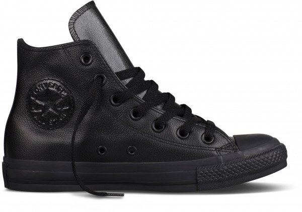 Topánky CONVERSE - CHUCK TAYLOR ALL STAR LEATHER HI Black \ Black