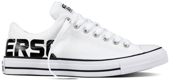 Topánky CONVERSE - CHUCK TAYLOR ALL STAR HIGH STREET OX White   Black ... 90ce4cb4339