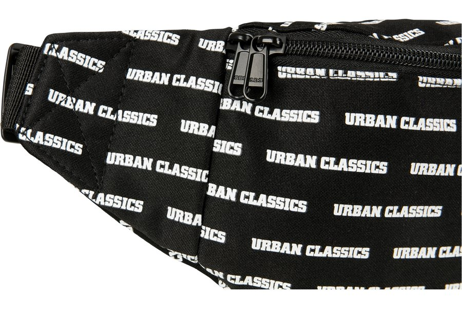 Ľadvinka URBAN CLASSICS - SHOULDER BAG Black / White