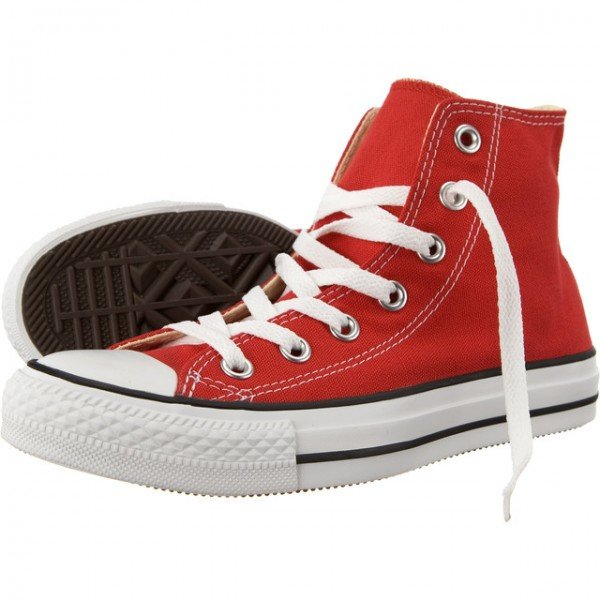 Topánky CONVERSE - CHUCK TAYLOR ALL STAR HI \ Red