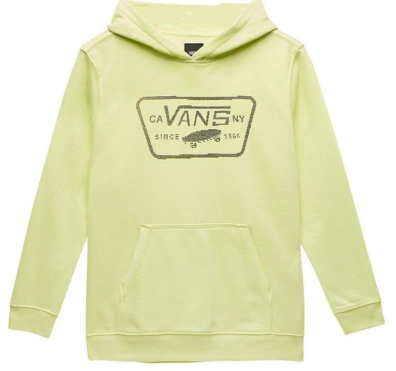 91805e76ea9ed Mikina VANS - 8BIT FULL PATCH PULLOVER KIDS / Sunny Lime | s ...