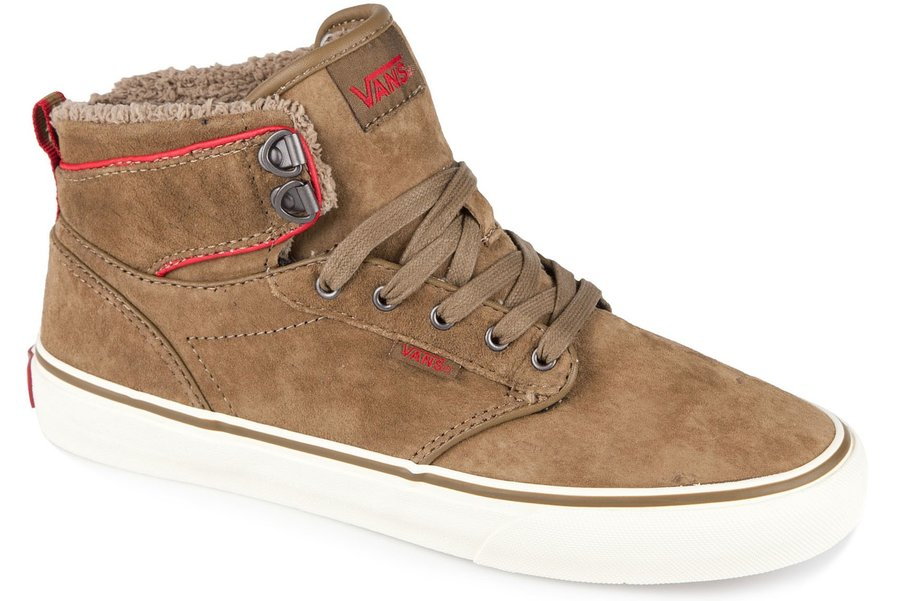 Topánky VANS - ATWOOD HI (MTE) Tan \ Red
