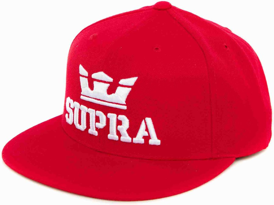 Šiltovka SUPRA – ABOVE SNAP HAT Formula One / White