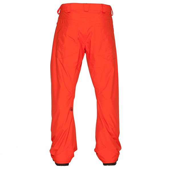 Nohavice VOLCOM - CARBON PANT \ Orange