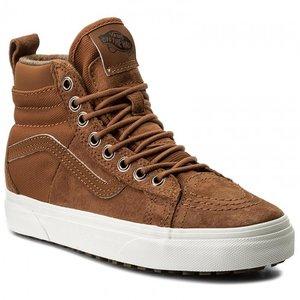 Topánky VANS - SK8 HI ( MTE ) DX Glazed Ginger   Flannel 8277d88337e