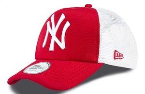 Šiltovka NEW ERA - TRUCKER CLEAN NEW YORK YANKEES Scarlet   White 7ceb1a85778