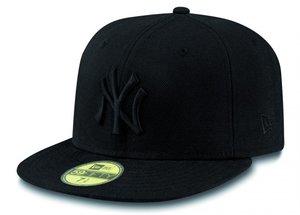 Šiltovka NEW ERA 5950 - NEW YORK YANKEES FITTED CAP   Black 81eb95721f9