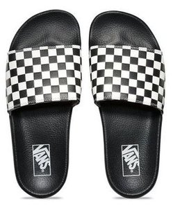 80f2da844b Šľapky VANS - SLIDE ON ( CHECKERBOARD ) Black   White