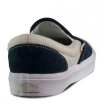 Topánky VANS - CLASSIC SLIP ON LITE ( TWO TONE ) Bress Blues \ Marshmallow