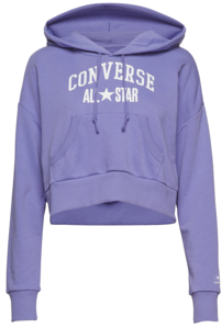 Mikina CONVERSE - ALL STAR PULLOVER HOODIE / Wild Lilac